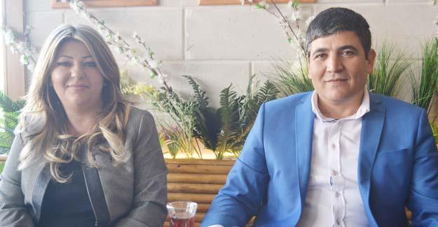 Eke ve Aksoy Gazetecileri Ağırladı