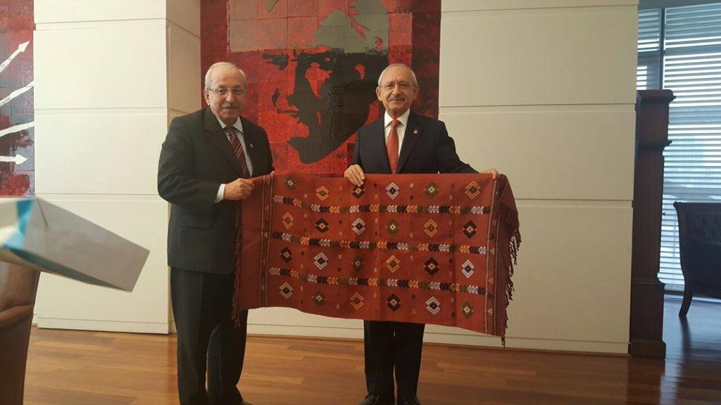 Başkan Albayrak, Kemal Kılıçdaroğlu'nu Ziyaret Etti