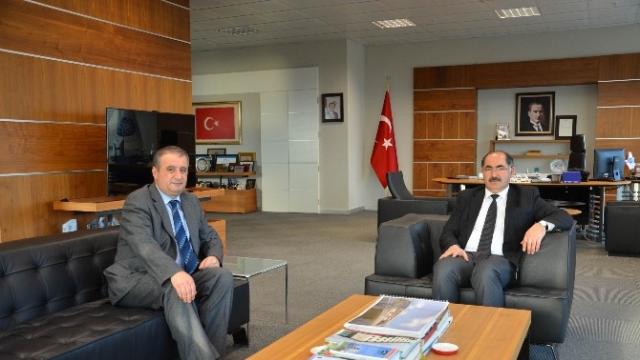 Vali Yardımcı Tetikoğlu'ndan Nkü Rektörü Şimşek'e Veda Ziyareti