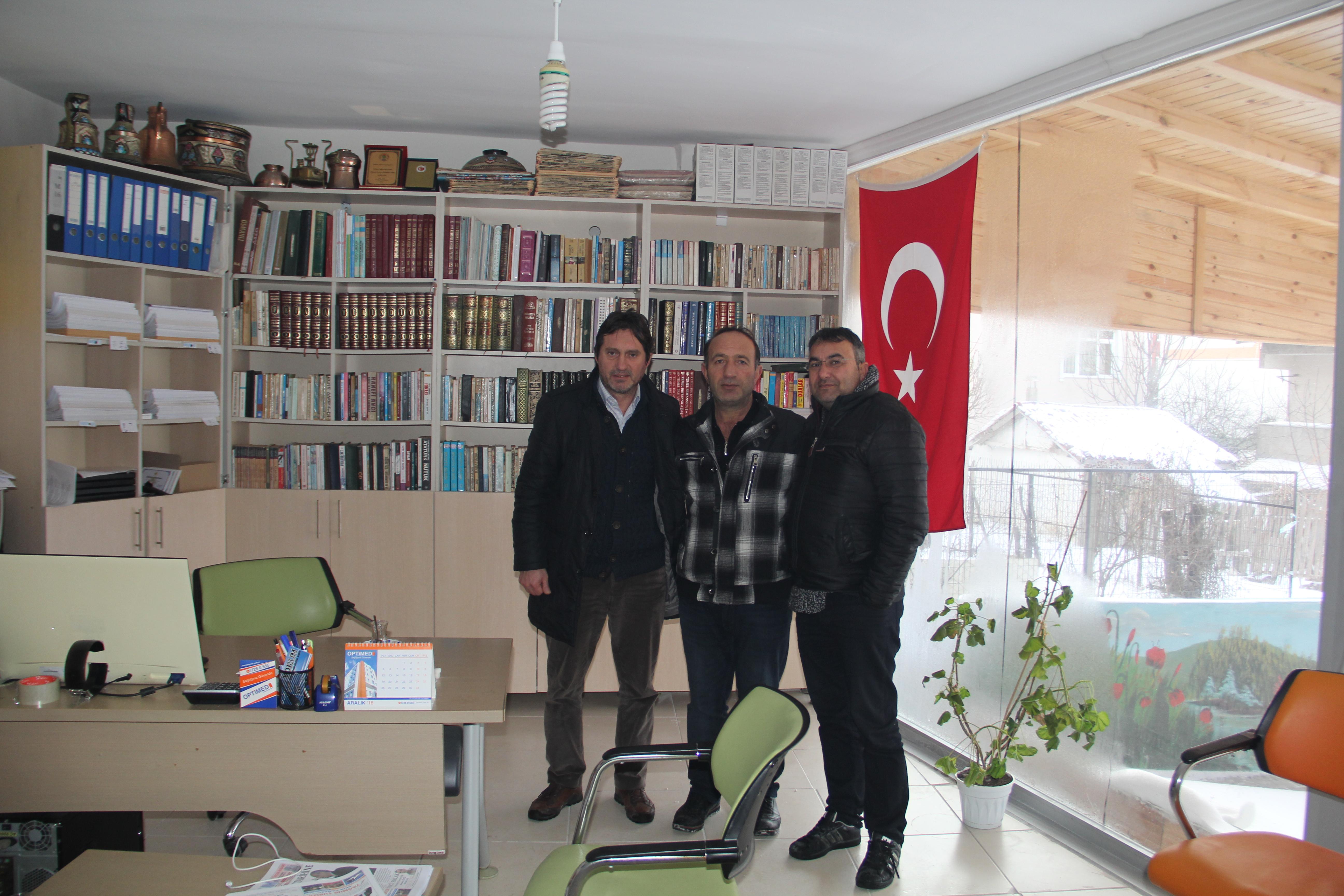 Öztürk'ten Gazetemize Ziyaret