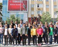 Moldova Halk Oyunları Ekibi Kapaklı'ya Veda Etti
