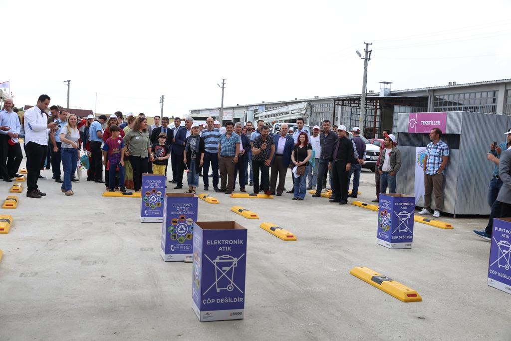 Atık Getirme Merkezi Açıldı