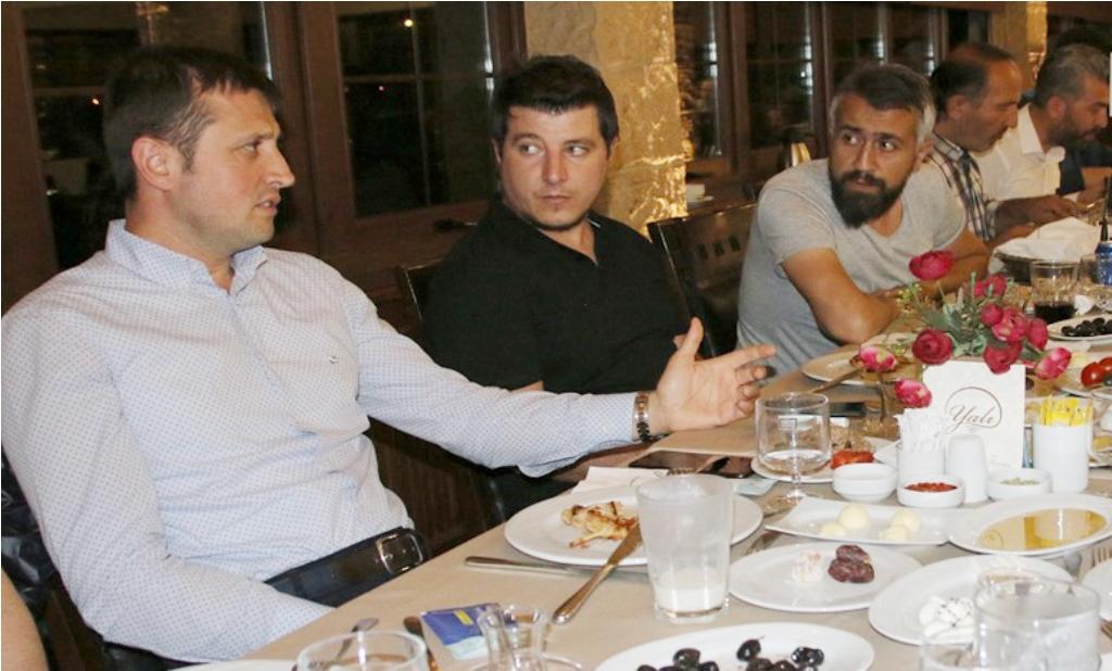Başkan Akay, Gazetecileri Ağırladı