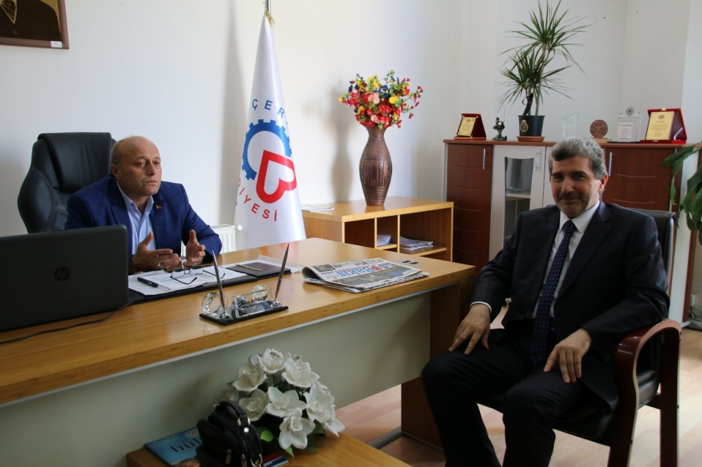Müftü, Enver Bayram'ı Ziyaret Etti