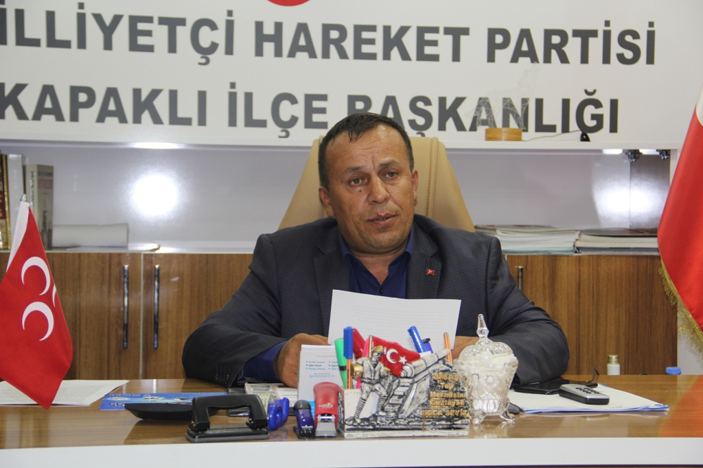 İsmail Türker'den Termik Santral Tepkisi