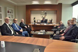 Başkan'dan OSB'ye Ziyaret