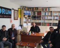 Kömürköylüler Yorum Kapaklı Gazetesini Ziyaret Etti