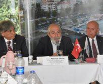 Marmara Denizi'nin geleceği Görüşüldü