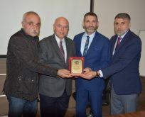 Roman Dernek Başkanları Eşkinat'ı Ziyaret Etti