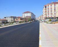 Turgut Özal ve Kıbrıs Caddeleri Asfaltlandı