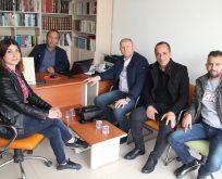 CHP'lilerden Gazetemize Ziyaret