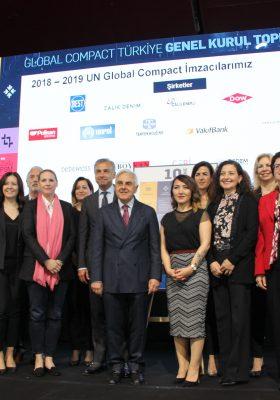 ÇOSB Küresel İlkeler Sözleşmesine İmza Attı