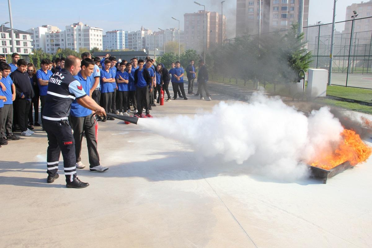 Uygulamalı Yangın Eğitimi