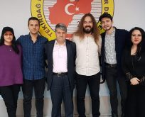 Fidan ve Kılıkçıer  Gazeteciler Derneği'ni ziyaret etti